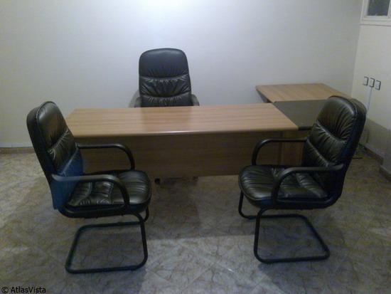 Great bureau chaise prsident chaises visiteurs cliquez for Bureau kitea