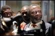 L'opposant tchadien Ngarlejy Yorongar, à son arrivée en France, le 6 mars 2008 (© AFP - Martin Bureau)