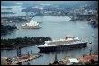 Le Queen Mary 2 à son arrivée à Sydney, le 26 février 2009 (© AFP/Archives - James Morgan)