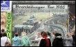 Des touristes devant un morceau du mur de Berlin, en octobre 2008 (© AFP/Archives - Barbara Sax)