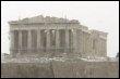 Le temple du Parthénon sur l'Acropole d'Athènes en février 20087 (© AFP - Aris Messinis)