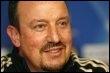 L'entraîneur de Liverpool Rafael Benitez  le 24 février 2009 (© AFP/Archives - Paul Ellis)