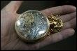 Une montre à gousset destinée à Marie-Antoinette exposée au musée de Jérusalem en novembre 2007 (© AFP/Archives - Menahem Kahana)
