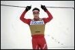 Le Suisse Dario Cologna victorieux en Coupe du monde de ski à Falun en Suède (© AFP - Fredrik Sandberg)