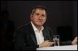 L'animateur Yves Calvi, le 4 septembre 2006 à Paris (© AFP/Archives - Fred Dufour)