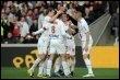 La joie des Lyonnais après le but d'Anthony Mounierle 22 mars 2009 (© AFP - Philippe Merle)