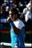 La joie de Rafael Nadal après sa victoire dans le tournoi de tennis d'Indian Wells le 22 mars 2009 (© AFP/Getty Images - Jeff Gross)