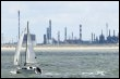 Vue partielle des usines du port autonome de Dunkerque, prise le 23 juillet 2003 (© AFP/archives - Denis Charlet)