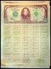 Copie d'un faux bon du Trésor américain d'une valeur de 100 millions de dollars (© AFP/Archives - Pornchai Kittiwongsakul)