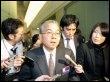 Yukio Sakamoto, le PDG d'Elpida Memory, à Tokyo le 6 février 2009 (© AFP/Archives - Yoshikazu Tsuno)