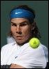 Rafael Nadal en finale à Indian Wells, le 22 mars 2009 (© AFP - Robyn Beck)