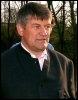 Walter Mayer, le 16 mars 2002 à Lausanne au Tribunal arbitral du sport (© AFP/Archives - Martial Trezzini)