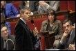Laurent Wauquiez à l'Assemblée nationale, le 10 mars 2009 à Paris (© AFP/Archives - Bertrand Guay)