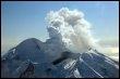Le volcan Redoubt dans l'Alaska le 15 mars 2009 (© AFP/Archives)