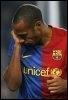 L'attaquant du FC Barcelone Thierry Henry, le 3 janvier 2009 à  Barcelone (© AFP/Archives - Josep Lago)