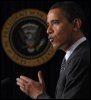 Barack Obama, le 23 mars 2009 à Washington (© AFP - Mandel Ngan)