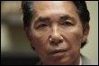 Kenzo Takada, dans son loft parisien le 24 mars 2009 (© AFP - Francois Guillot)