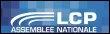 Logo de la chaîne LCP-Assemblée nationale (© AFP)