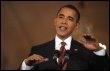 Barack Obama lors d'une conférence de presse à Washington le 24 mars 2009 (© AFP - Mandel Ngan)