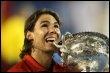 Rafael Nadal remporte l'Open d'Australie le 2 février 2009 (© AFP/Archives - Greg Wood)