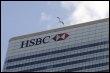 Le siège de la banque HSBC à Londres, le 2 mars 2009 (© AFP - Shaun Curry)