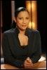 Christine Kelly, journaliste guadeloupéenne présentatrice du journal du matin sur la chaîne cablée LCI, le 25 avril 2006 à Paris (© AFP/Archives - Pierre Verdy)
