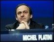 Le président de l'Union européenne de football (UEFA), Michel Platini, le 25 mars 2009 à Copenhague (© AFP/Scanpix - Keld Navntoft)