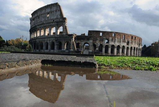 Le Colisée à Rome le 11 novembre 2010 (©  - Tiziana Fabi)