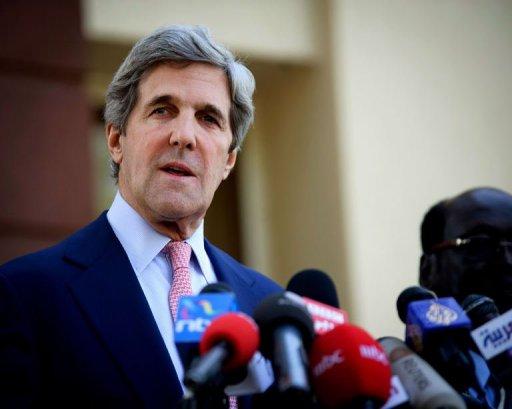 Le sénateur américain John Kerry à Juba, au Sud-Soudan, le 8 janvier 2011 (©  - Phil Moore)