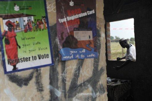 Une affiche pour la campagne du référendum, au Sud Soudan en novembre 2010 (©  - Roberto Schmidt)