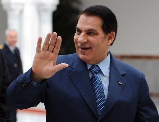 Le président tunisien Ben Ali, le 22 décembre 2010 (©  - Fethi Belaid)