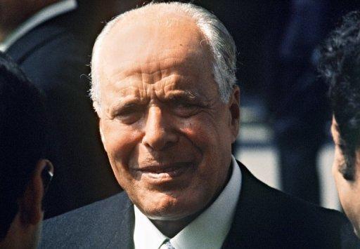 Le fondateur de la Tunisie indépendante, Habib Bourguiba, en 1974 (©  - Pierre Guillaud)