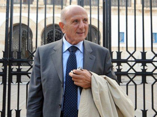 Nejib Chebbi  le 17 janvier 2011 à Tunis (©  - Fethi Belaid)